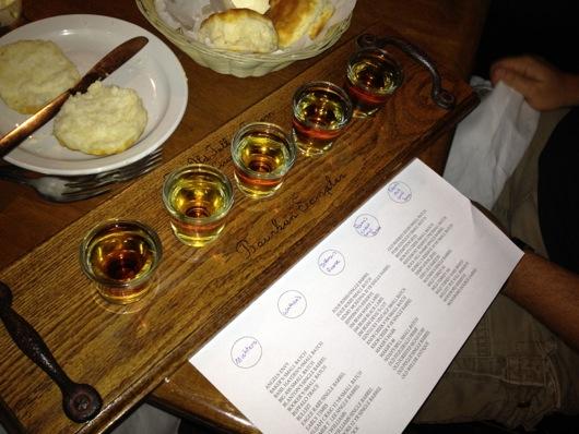 Old Talbott Tavern Bourbon Sampler