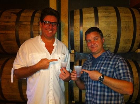 Ritch and Dan Enjoying Bourbon