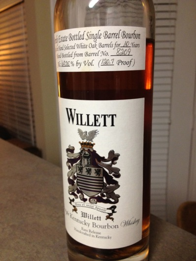 Willett Single Barrel Bourbon