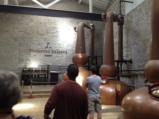 Woodford Reserve Giant Copper Stills