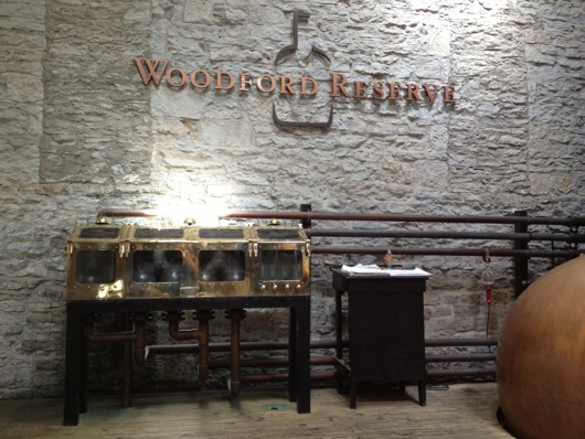 Woodford Reserve Brass-Trimmed Tail Boxes