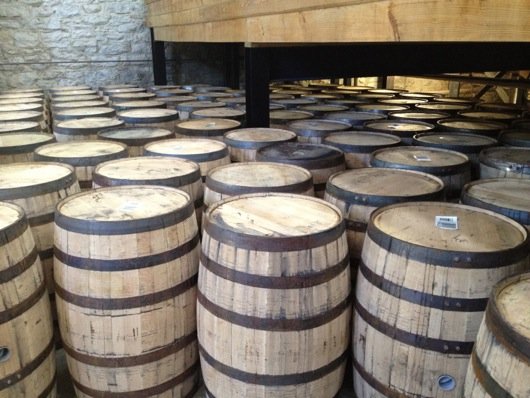 Woodford Reserver New White Oak Barrels
