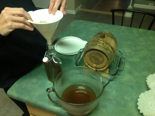 Bourbon Chill Filtering