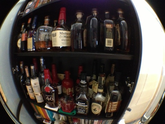 Fisheye of Bourbon Collection