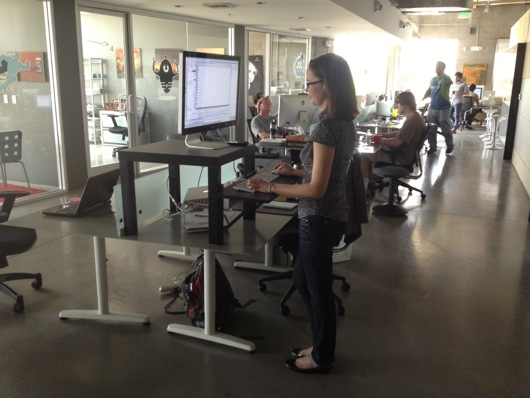 Stand-Up Desk at meltmedia
