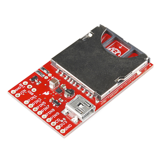 Electric Imp Breakout from Sparkfun (Part No. BOB-11400)