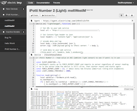 Imp IDE Screenshot