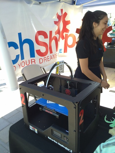 3D Printers-a-Plenty at Southwest Maker Fest