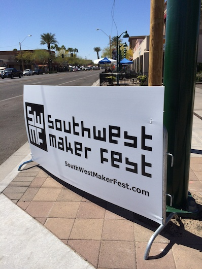Southwest Maker Fest 2014 in Downtown Mesa, AZ