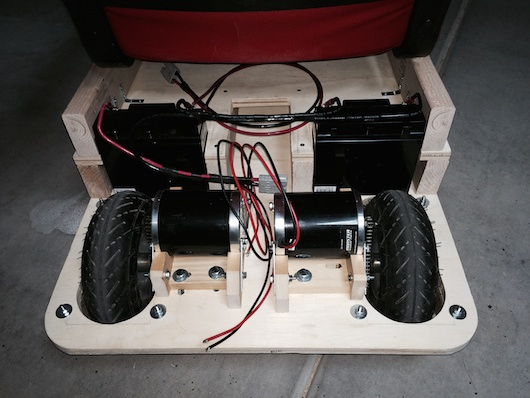 Office Chairiot Mark II - Motors and Batteries