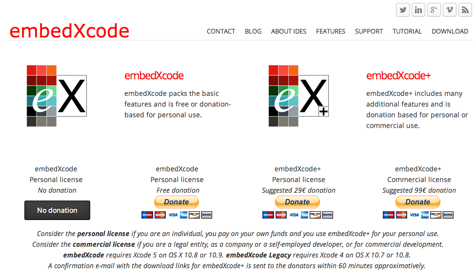 Download embedXcode