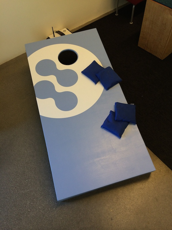 DIY Cornhole Game