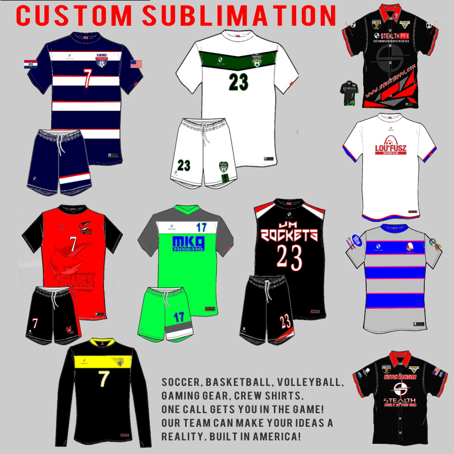 f6250c2dcfc Stealth PFX Custom Sublimated Kits — Custom Sublimated Uniforms   gear