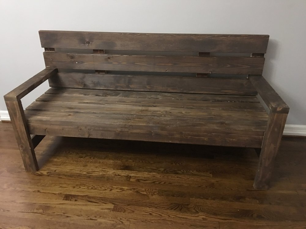 Southern Porch Bench