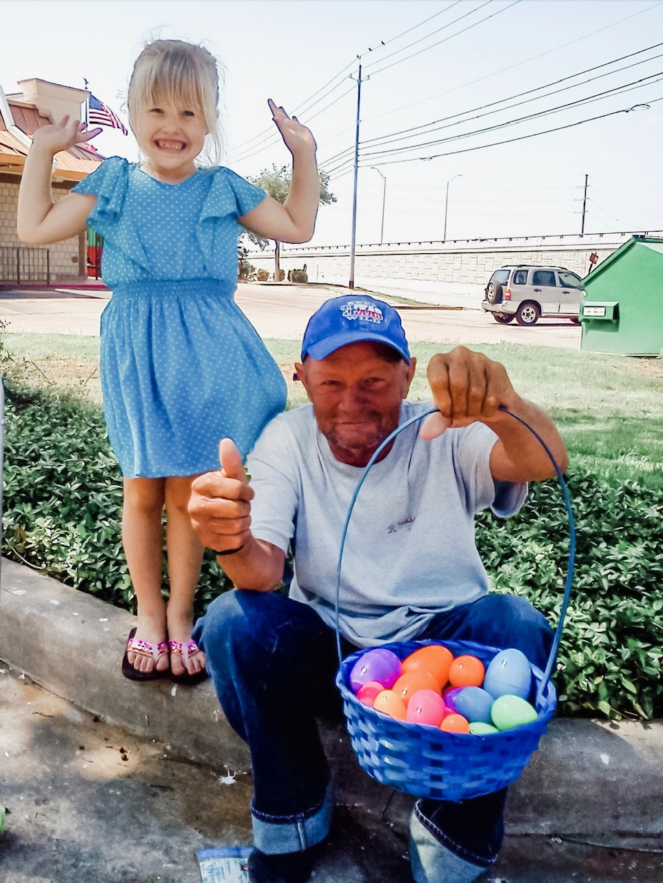 the Easter egg hunt!