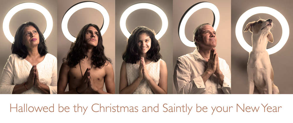 Family Digital Christmas Card 2015