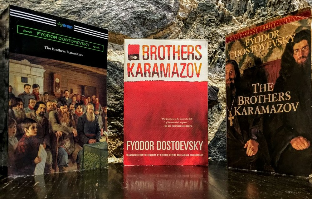 Brothers K Three Books.JPG