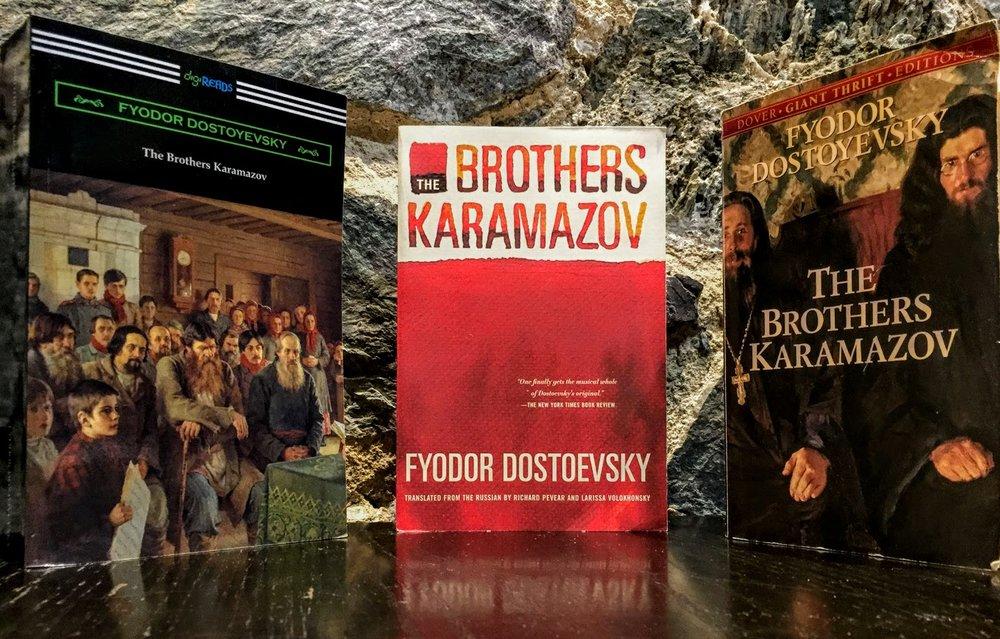 Brothers K Three Books.JPG