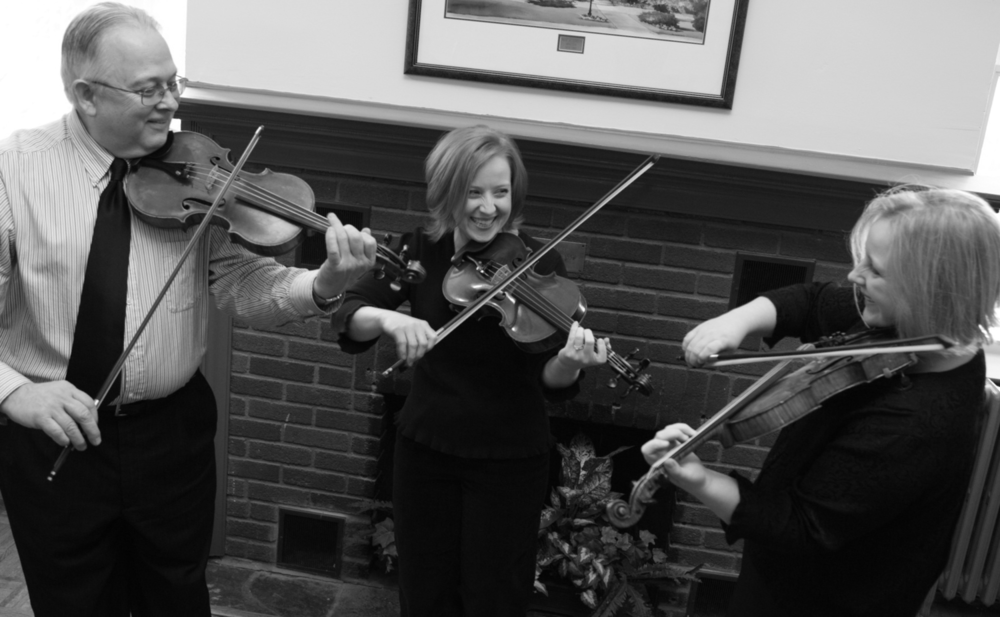Don Woodcock (fiddle), Rebecca Koehler (fiddle), Gretchen Koehler (fiddle)