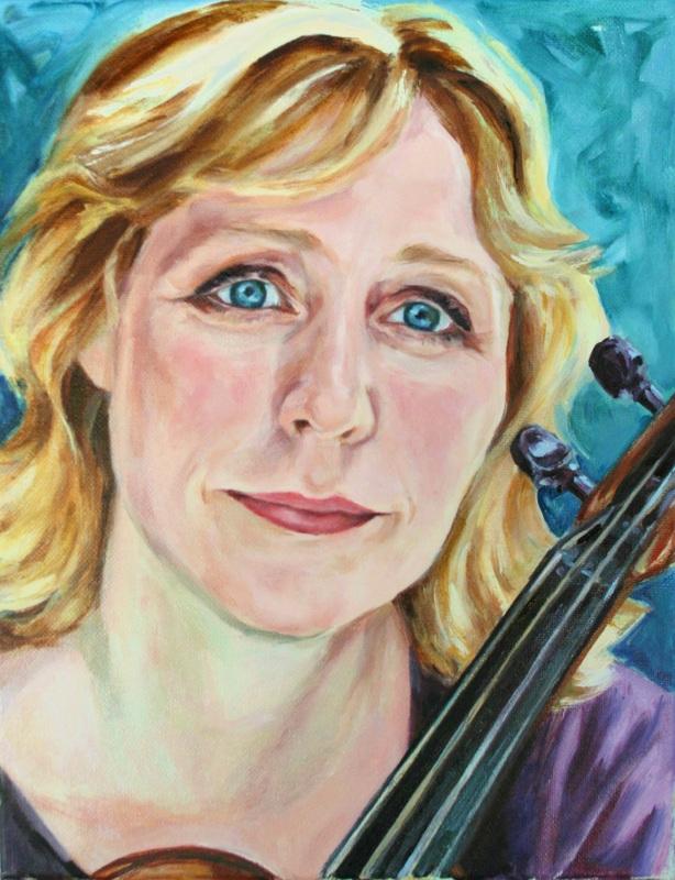 Portrait by Hannah Harvester