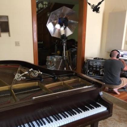 Jeff checking sound.