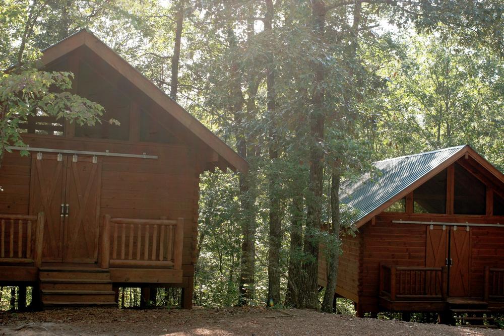 Cabins Amp Bathhouse Camp Highland