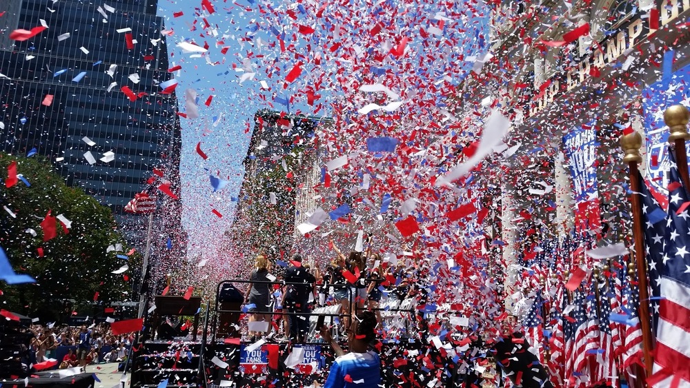 Unforgettable Moment: Being part of the Ticker Tape Parade in NYC for Women's World Cup Team