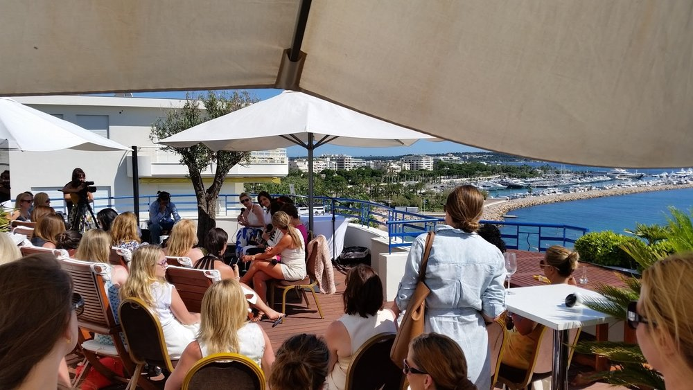 The Girls Lounge at Cannes Lions 2016