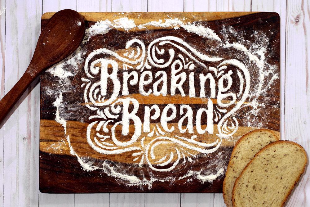 Breaking Bread  Bleached Flour