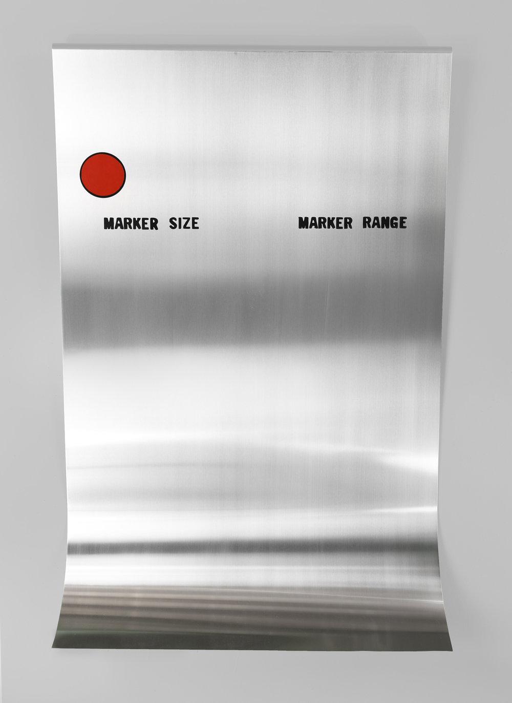 Sweep Range (Marker Size), 2016