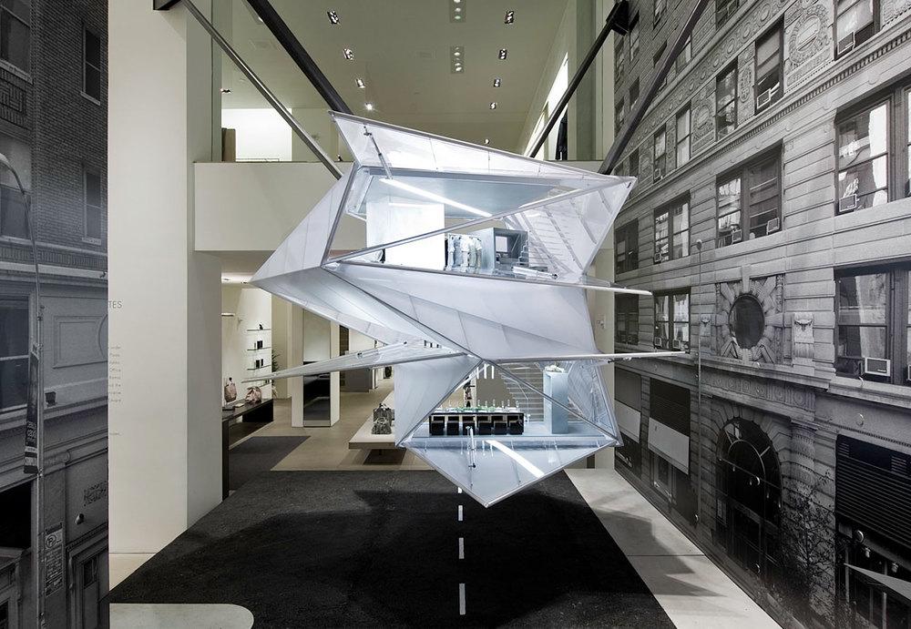 Calvin klein ck madison ave doll house new york ny rex architecture - Nicolas kleine architect ...