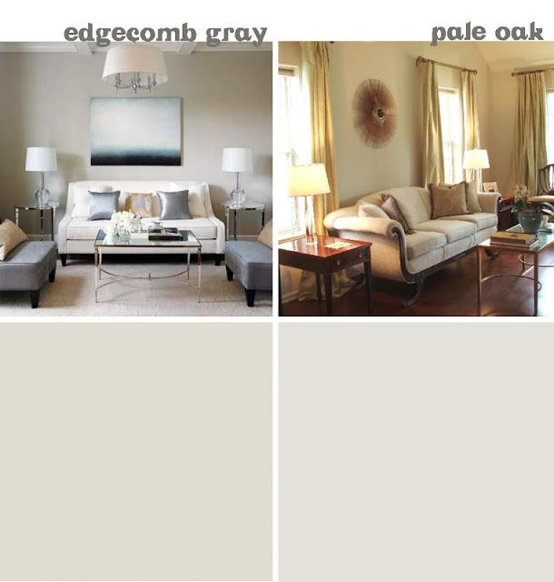 Edgecomb gray viaHouse Tweaking. Pale Oak viaDecor Pad.