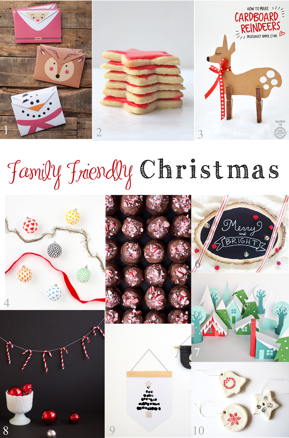 10 holiday projects to do as a family