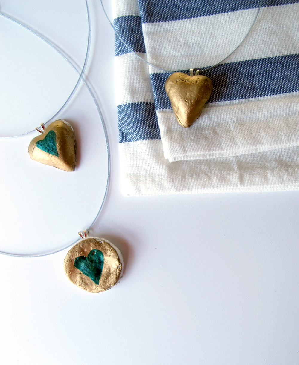 DIY necklaces for valentine's day