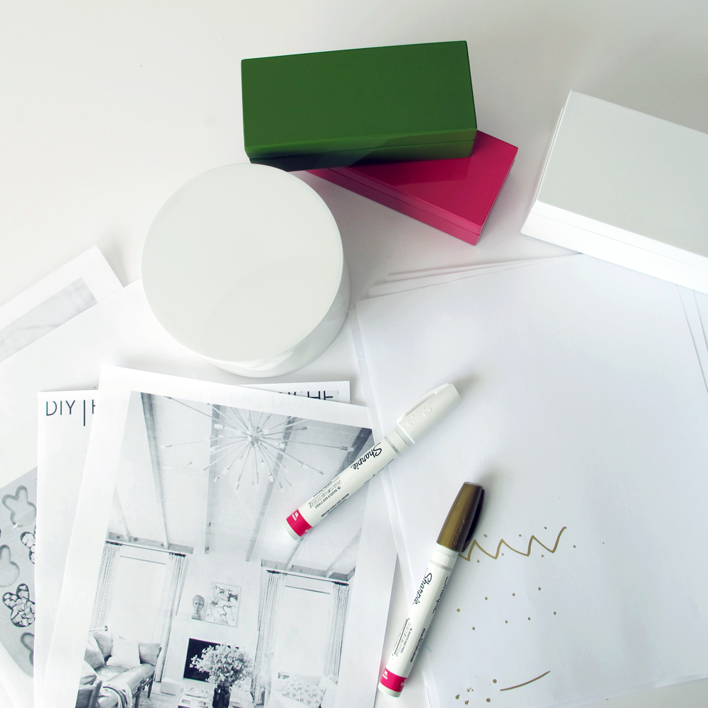how to customize lacquer boxes