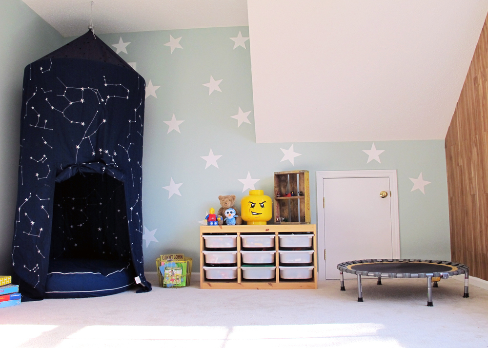 sensory friendly playroom makeover -tag&tibby