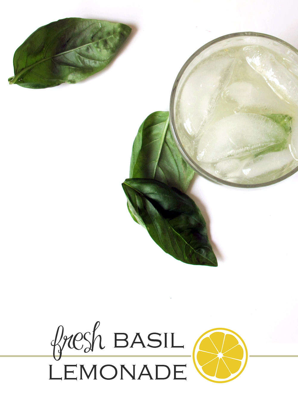 homemade basil lemonade recipe
