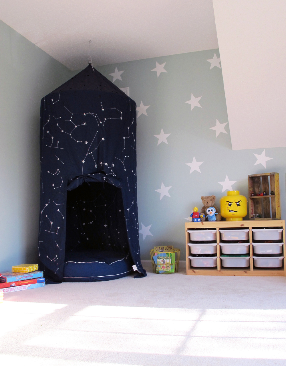 playroom in Palladian Blue -tag&tibby