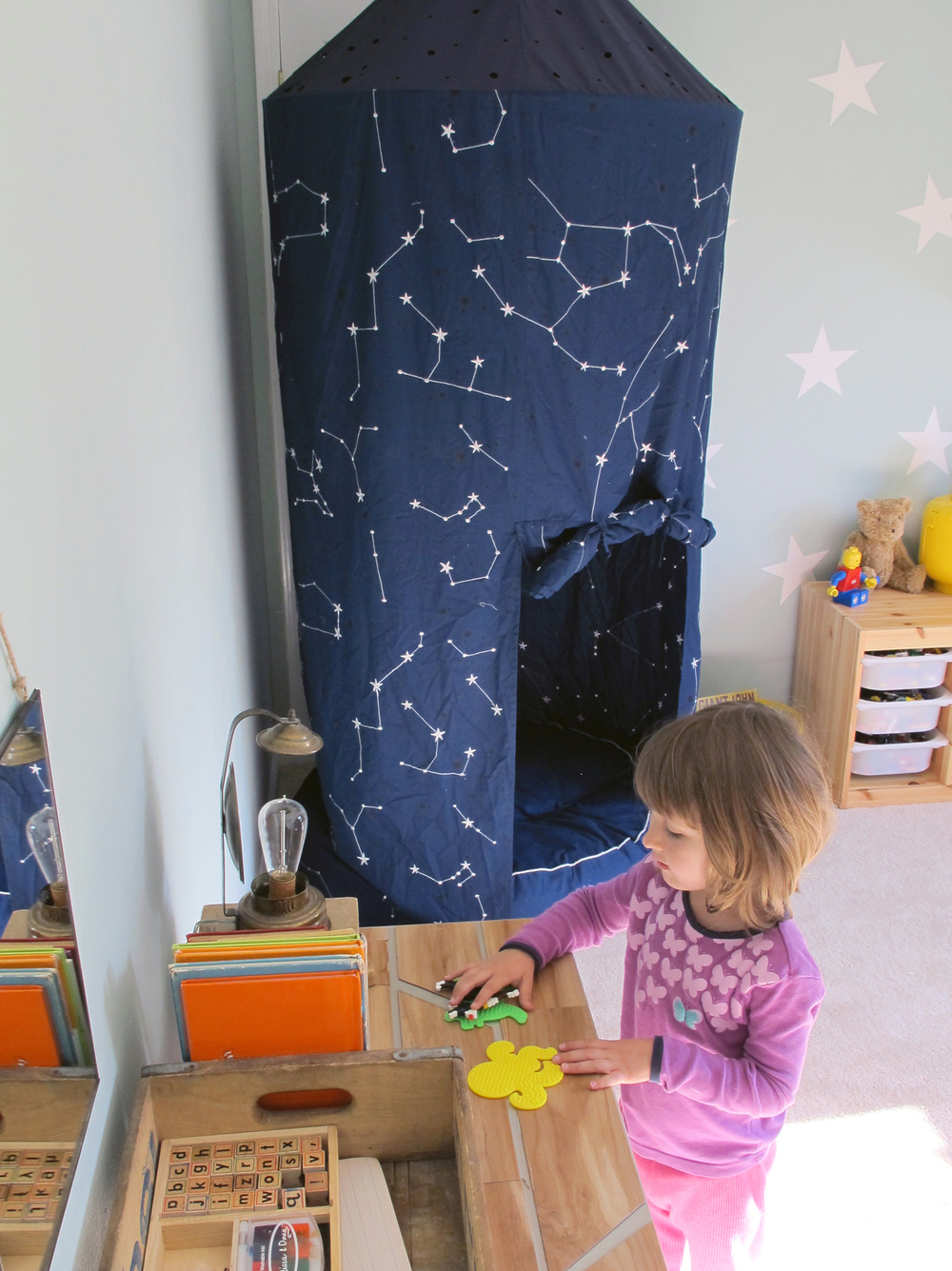 budget friendly playroom