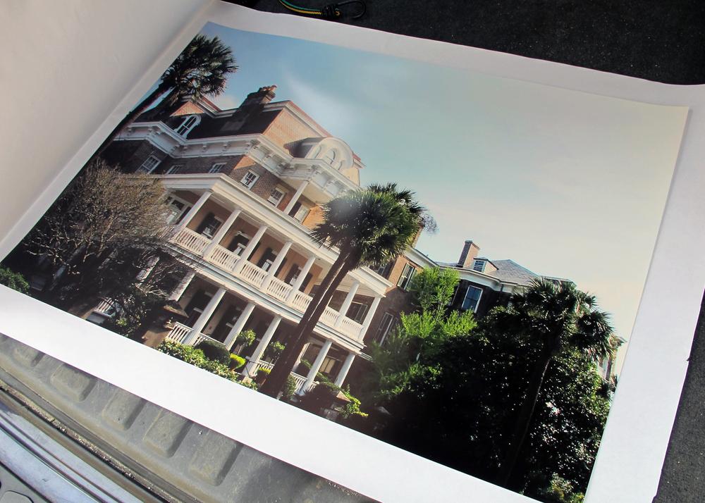 printable of historic Charleston, SC