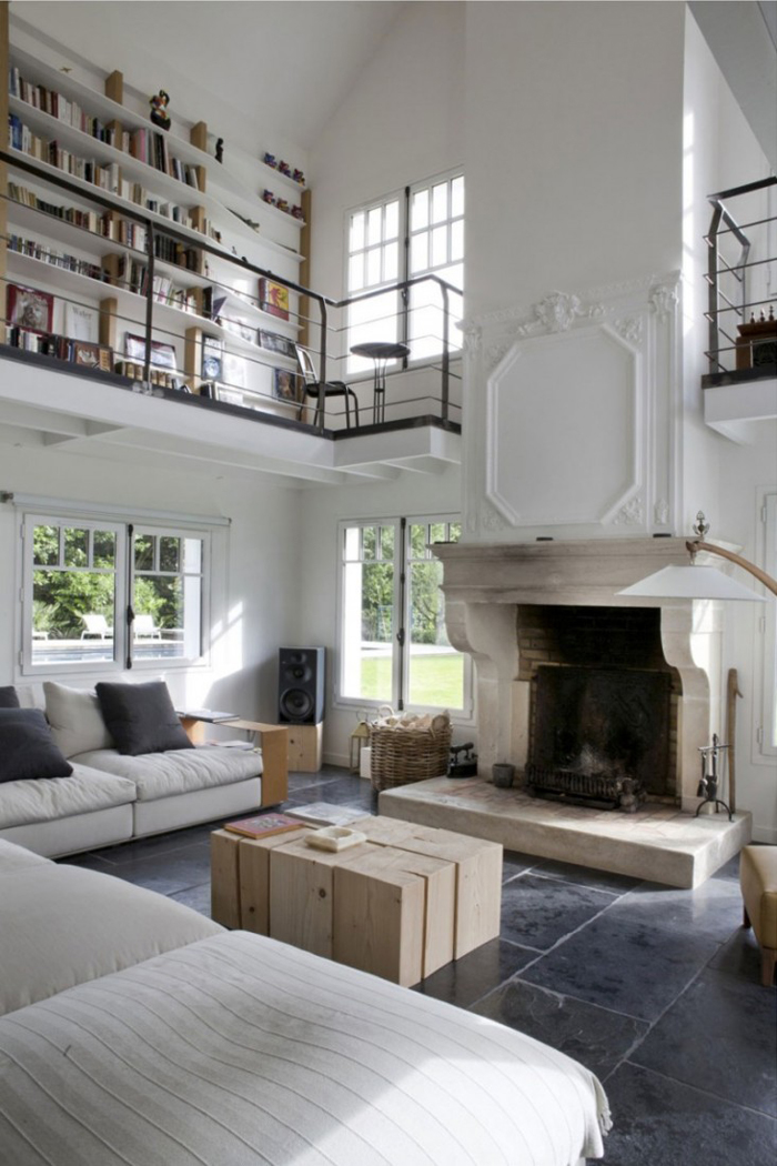 6 creative ideas for high ceilings: add a second floor