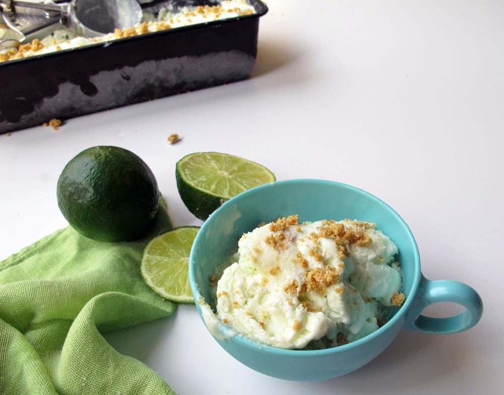 tangy + sweet key lime pie ice cream recipe