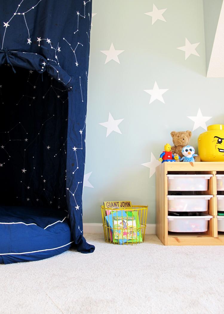 a sensory friendly playroom makeover