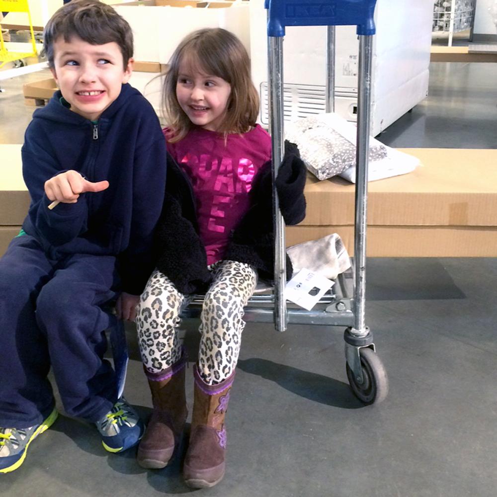 mini IKEA shoppers
