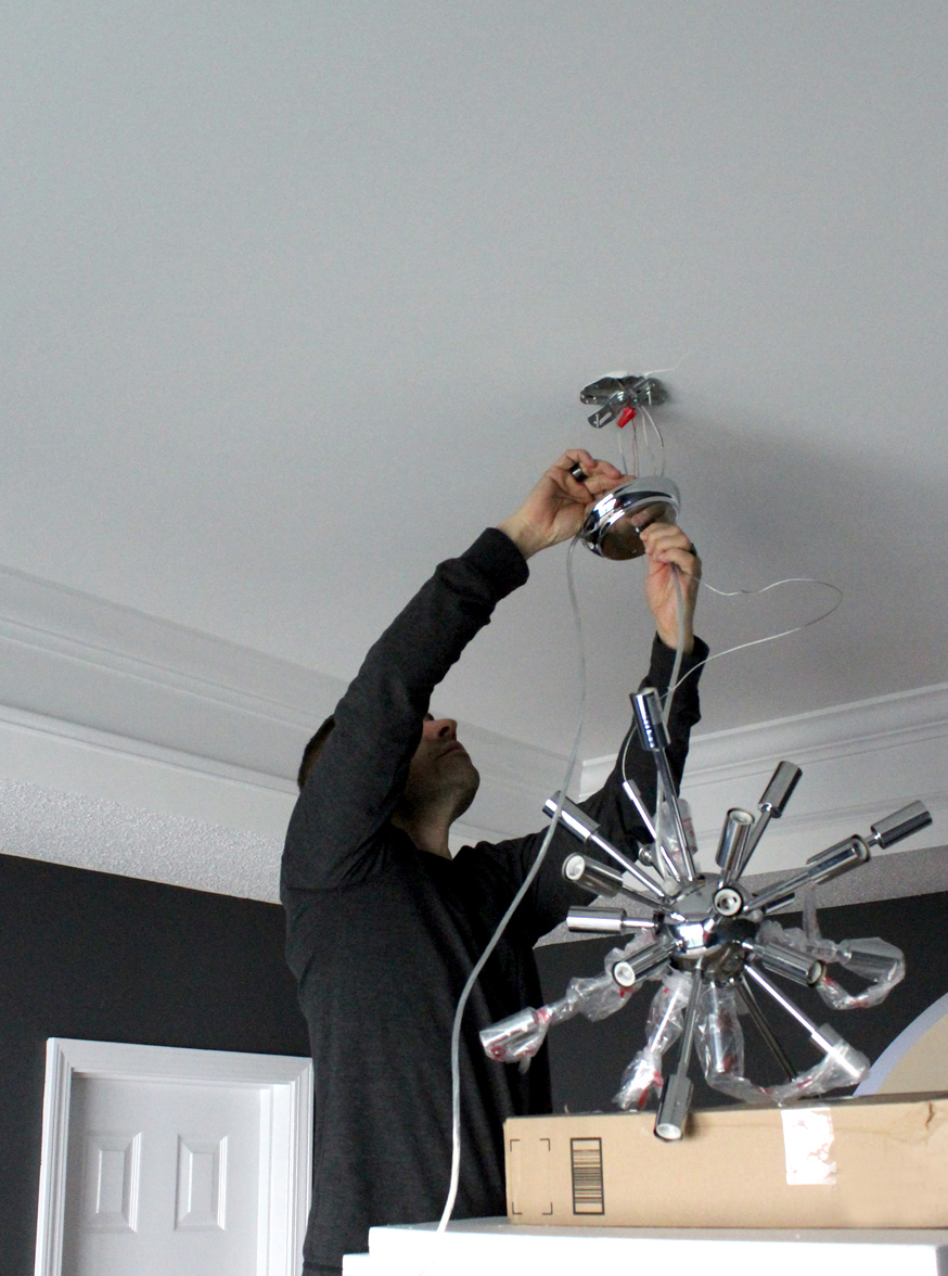4 tips for DIY installing a new light fixture