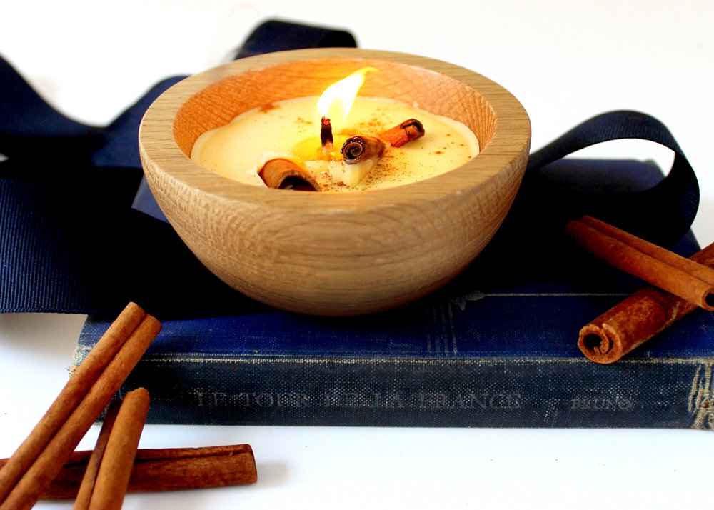 how to make natural candles with beeswax