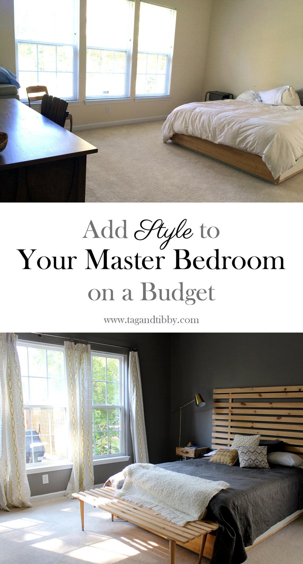 4 Master Bedroom Decorating Ideas — Tag & Tibby Design