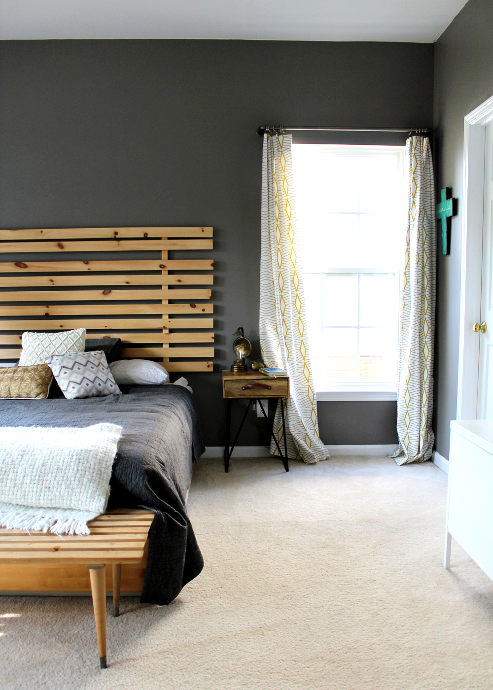 master bedroom makeover | tag&tibby