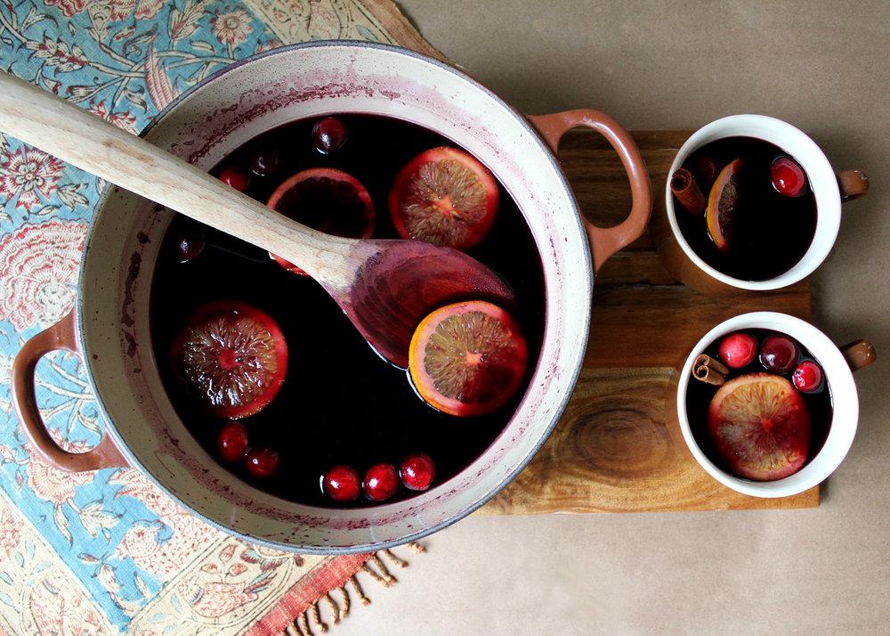 gluehwein, mulled wine recipe