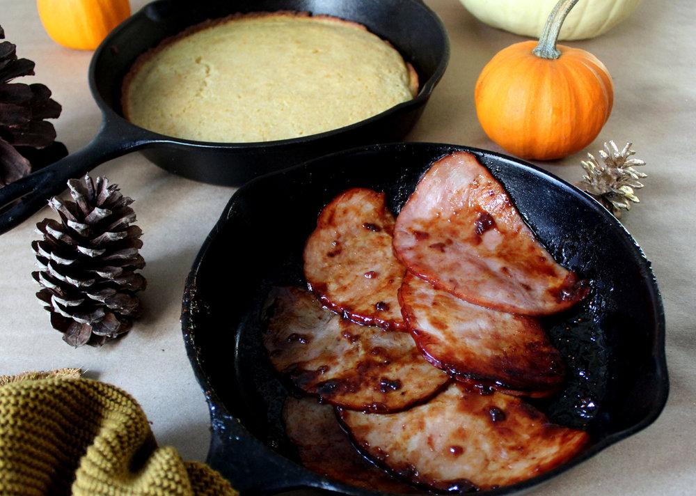 Glazed Strawberry Jalapeño Ham, a post-thanksgiving recipe